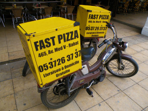 Fast pizza promise